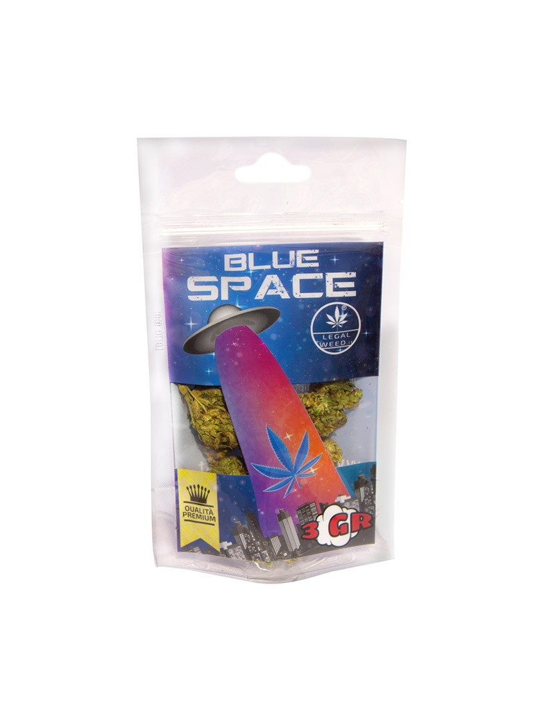 Blue Space by Space One Cannabis Light Legale