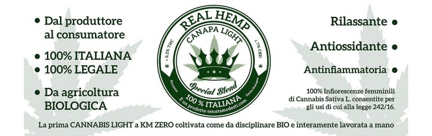 Real Hemp Hemp Light growshopstore.it
