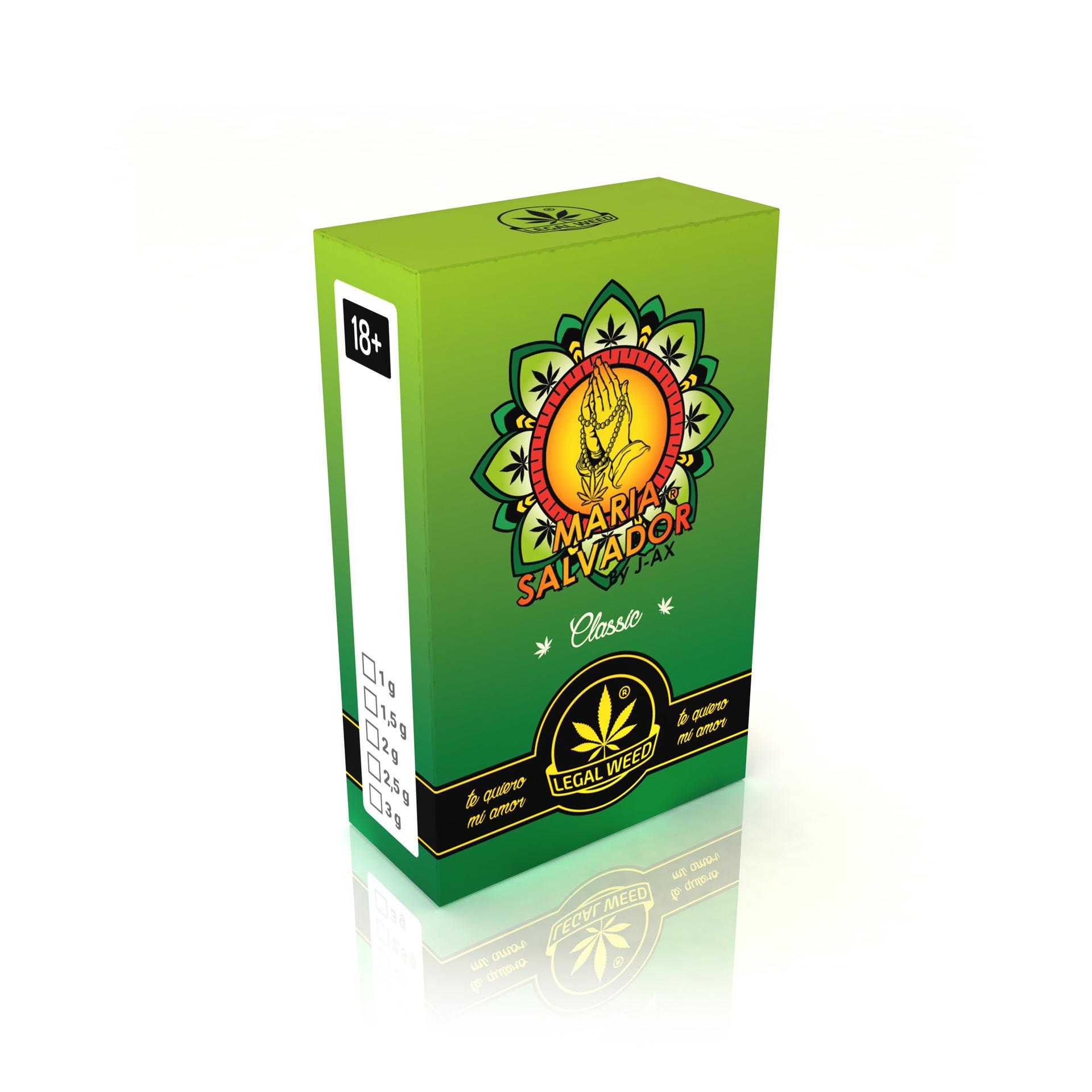 Maria Salvador by J-AX Cannabis Light Legale
