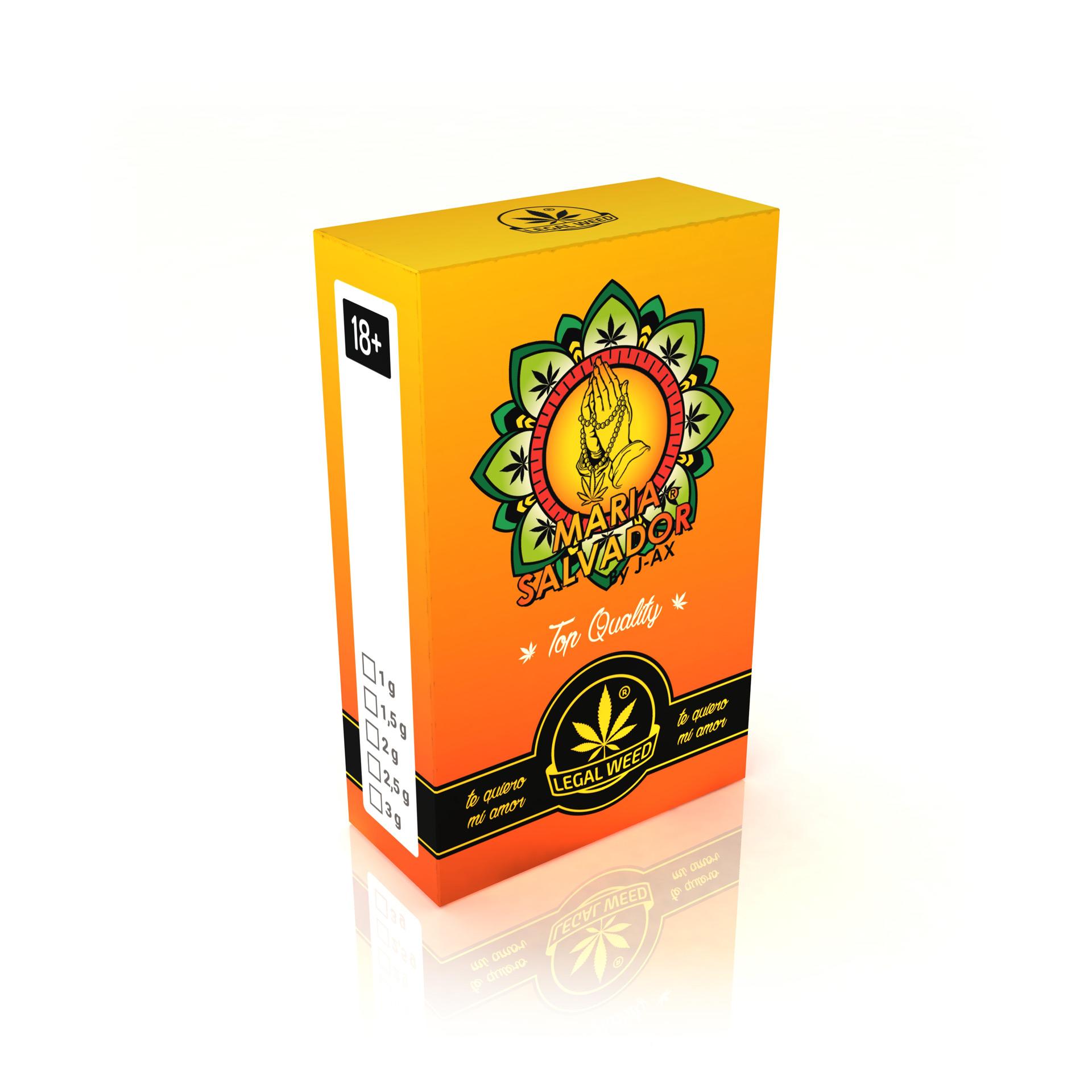Maria Salvador Top Quality Cannabis Light Legale