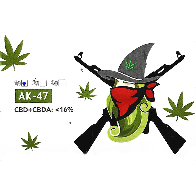 The Weedzard AK-47 1 gr